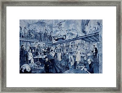the Terrible Tavern Framed Print