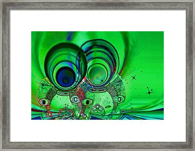 The Terrible Twos Framed Print by Wendy J St Christopher