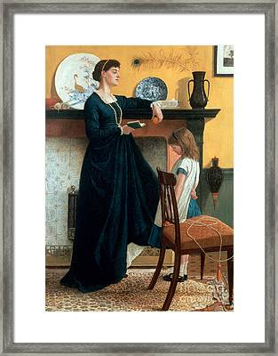The Test Framed Print by Thomas Armstrong