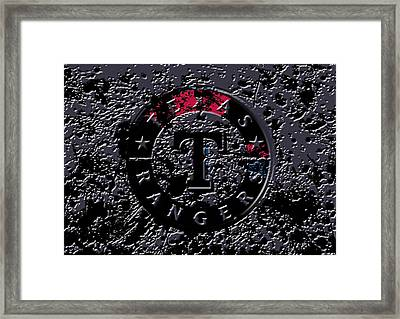 The Texas Rangers 1a Framed Print by Brian Reaves