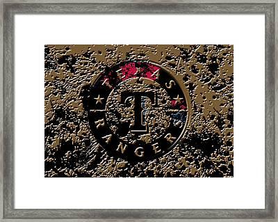 The Texas Rangers 1e Framed Print by Brian Reaves