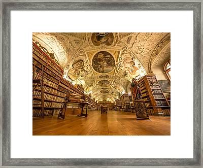 The Theological Hall Framed Print