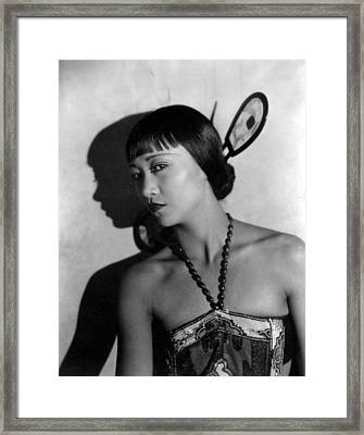 The Thief Of Bagdad, Anna May Wong Framed Print by Everett