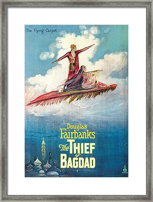 The Thief Of Bagdad,  Douglas Framed Print by Everett