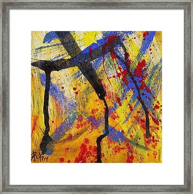 The Thin Man - Abstract Framed Print by Mountain Dreams