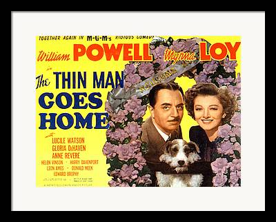 Thin Man Goes Home Framed Prints