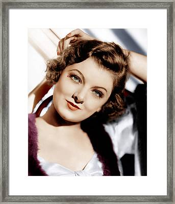 The Thin Man, Myrna Loy, 1934 Framed Print by Everett