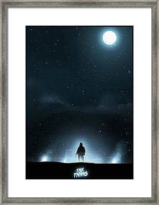 The Thing Framed Print by Colin Morella