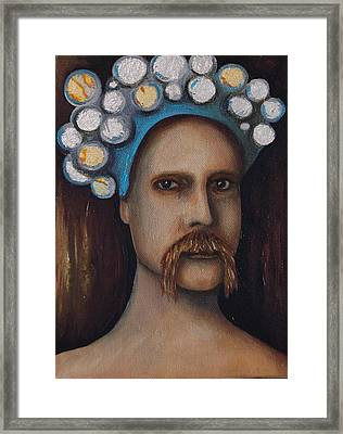 The Thinker Framed Print by Leah Saulnier The Painting Maniac