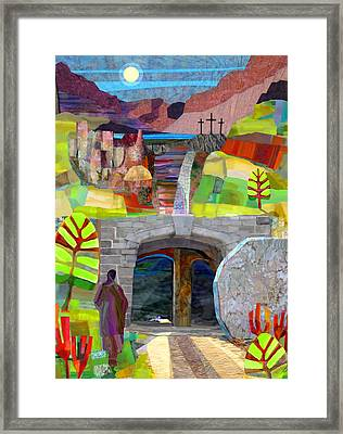 The Third Day Framed Print by Michael Torevell