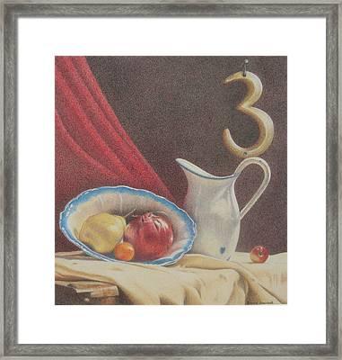 The Third Element Framed Print by Bonnie Haversat