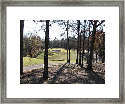 The Thirteenth At Mountain Ranch Framed Print by CGHepburn Scenic Photos