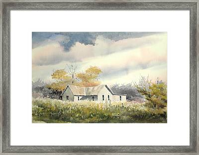 The Thompson Place Framed Print