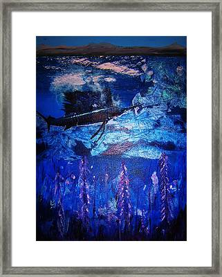 the THREATENED SAILFISH Framed Print