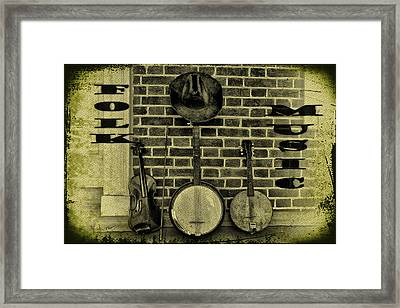 The Three Amigos - Folk Music Framed Print by Bill Cannon