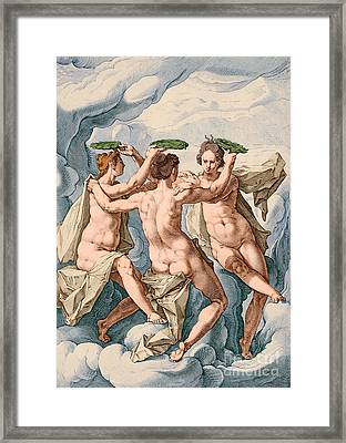 The Three Graces Framed Print by Los Angeles County Museum