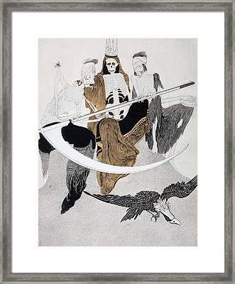 The Three Horsemen Of The Apocalypse Framed Print