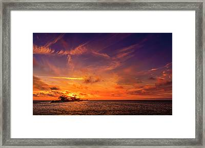 The Three Hour Tour Framed Print