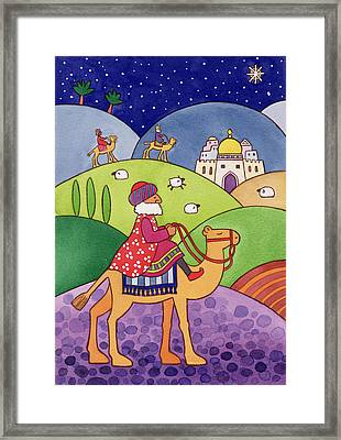 The Three Kings Framed Print by Cathy Baxter