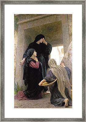 The Three Marys At The Tomb Framed Print