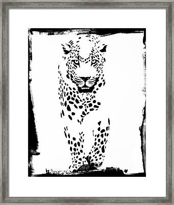 The Three Musketeers - Leopard Framed Print