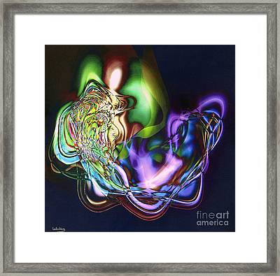 The Three Partners In Marriage Framed Print
