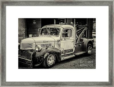 The Three Rs Framed Print by Arne Hansen