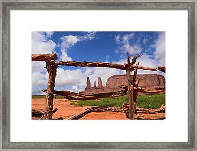The Three Sisters Framed - Arizona Framed Print