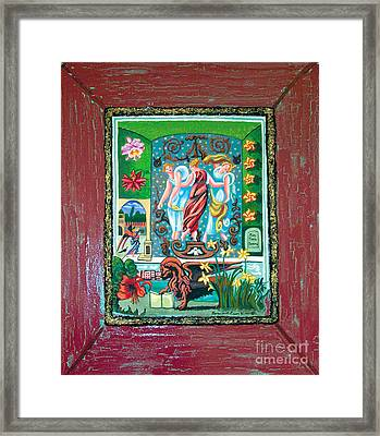 The Three Sisters Framed Print by Genevieve Esson