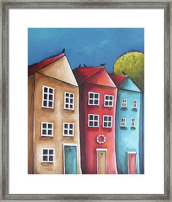 The Three Sisters Framed Print by Lucia Stewart