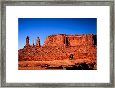 The Three Sisters Framed Print by Robert Bales