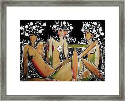 The Three Stages Framed Print by Dianne Benanti