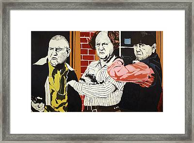 The Three Stooges Framed Print