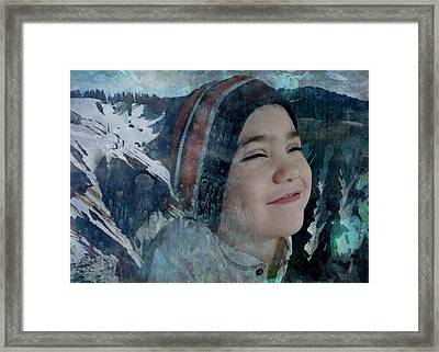 The Thrill Of Adventure Framed Print