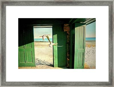 Framed Print featuring the photograph The Thruway by Diana Angstadt