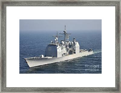 The Ticonderoga-class Guided-missile Framed Print