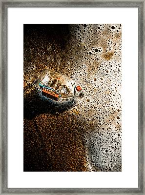 The Tide And Its Takers Framed Print by Jorgo Photography - Wall Art Gallery
