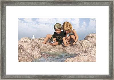The Tide Pool Framed Print
