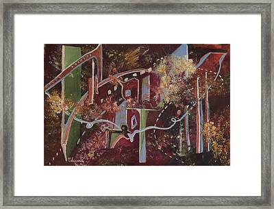The Ties That Bind Framed Print by Charme Curtin