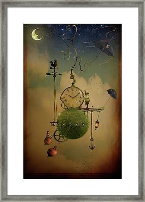 The Time Chasers Framed Print