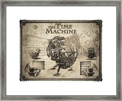 The Time Machine Framed Print by Robert Slack