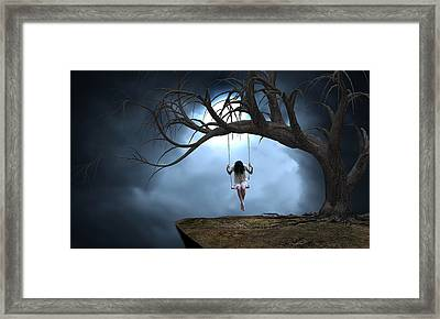 The Time Of My Life Framed Print