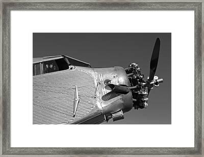 The Tin Goose Framed Print
