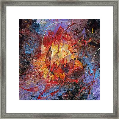 The Tipping Point Framed Print by Fred Wellner