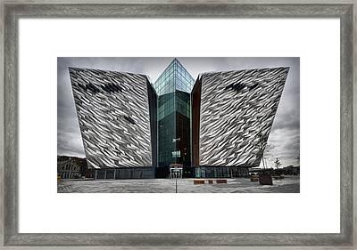The Titanic Belfast Framed Print by Chris Cardwell