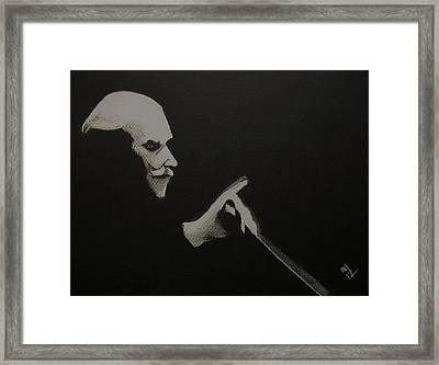 The Titans -- Toscanini Framed Print