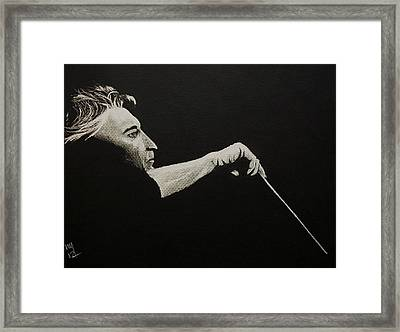 The Titans -- Von Karajan Framed Print by Nick Young