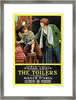 The Toilers 1916 Framed Print by Mountain Dreams
