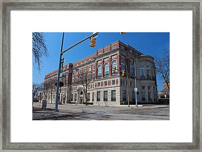 Framed Print featuring the photograph The Toledo Club by Michiale Schneider