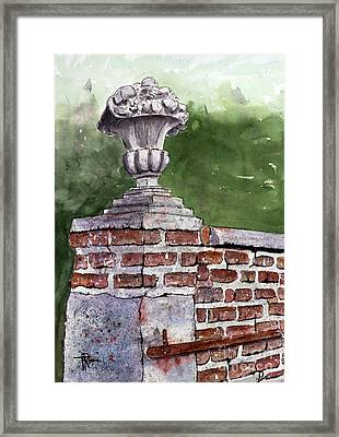 The Toll Of Time Framed Print by Tim Ross